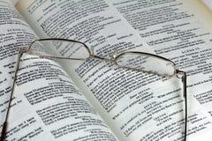 γυαλιά Shakespeare βιβλίων Στοκ φωτογραφίες με δικαίωμα ελεύθερης χρήσης