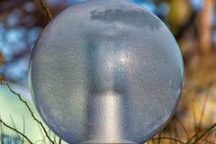 Γυαλί λαμπτήρων οδών Στοκ εικόνες με δικαίωμα ελεύθερης χρήσης