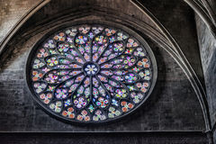 γυαλί εκκλησιών που λεκιάζουν Στοκ φωτογραφία με δικαίωμα ελεύθερης χρήσης