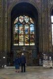 γυαλί εκκλησιών που λε& Στοκ φωτογραφία με δικαίωμα ελεύθερης χρήσης