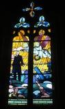 γυαλί εκκλησιών που λε& Στοκ φωτογραφίες με δικαίωμα ελεύθερης χρήσης