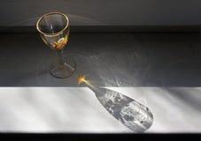 Γυαλί κρασιού για τα ποτά πνευμάτων Στοκ φωτογραφία με δικαίωμα ελεύθερης χρήσης