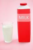 Γυαλί με το γάλα Στοκ φωτογραφία με δικαίωμα ελεύθερης χρήσης