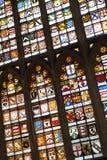 γυαλί που λεκιάζουν Στοκ φωτογραφίες με δικαίωμα ελεύθερης χρήσης