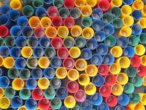 Γυαλί που τοποθετείται ζωηρόχρωμο Στοκ Εικόνες