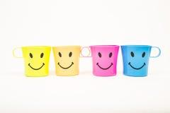 Γυαλί, πλαστικό χαμόγελο στοκ εικόνες