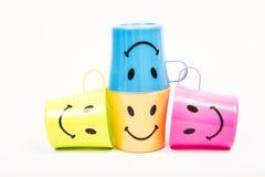 Γυαλί, πλαστικό χαμόγελο στοκ εικόνες με δικαίωμα ελεύθερης χρήσης