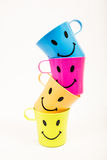 Γυαλί, πλαστικό χαμόγελο στοκ φωτογραφία με δικαίωμα ελεύθερης χρήσης
