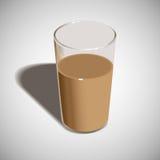 Γυαλί της απεικόνισης γάλακτος Διανυσματική απεικόνιση