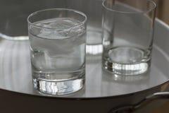 Γυαλί του νερού Στοκ Εικόνες