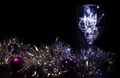 Γυαλί Χριστουγέννων Στοκ Εικόνες