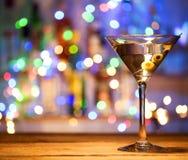 Γυαλί martini coctail Στοκ Εικόνες