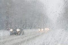Γυαλί Misted στο αυτοκίνητο Στοκ φωτογραφία με δικαίωμα ελεύθερης χρήσης