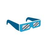 Γυαλιά έκλειψης - ακίνδυνα που βλέπουν τη συνολική ηλιακή έκλειψη ελεύθερη απεικόνιση δικαιώματος