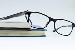 γυαλιά βιβλίων Στοκ Εικόνες