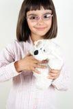 Γυαλιά για με και για teddy μου Στοκ φωτογραφία με δικαίωμα ελεύθερης χρήσης