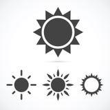 γυαλιά ηλίου ήλιων εικονιδίων σχεδίου σας Στοκ Εικόνα