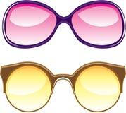 Γυαλιά ηλίου αναδρομικά απεικόνιση αποθεμάτων