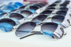 γυαλιά ηλίου γυαλιών ματιών συλλογής Στοκ Εικόνες