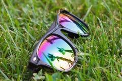 Γυαλιά ηλίου με την όμορφη αντανάκλαση Στοκ φωτογραφίες με δικαίωμα ελεύθερης χρήσης