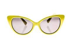 Γυαλιά ηλίου παιδιών, σκιές ήλιων ή θεάματα που απομονώνονται στο λευκό Στοκ Εικόνα