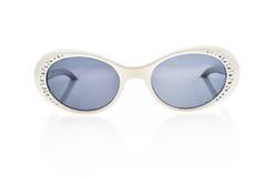 Γυαλιά ηλίου παιδιών, σκιές ήλιων ή θεάματα που απομονώνονται στο λευκό Στοκ εικόνα με δικαίωμα ελεύθερης χρήσης