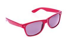 Γυαλιά ηλίου παιδιών χρώματος, σκιές ήλιων ή θεάματα που απομονώνονται επάνω Στοκ Εικόνες
