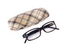 Γυαλιά και Ñ  ase Στοκ εικόνα με δικαίωμα ελεύθερης χρήσης