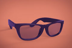 Γυαλιά μαυρισμένων ματιών Στοκ φωτογραφία με δικαίωμα ελεύθερης χρήσης