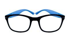Γυαλιά με τα μαύρα πλαίσια Στοκ Φωτογραφία