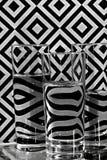 Γυαλιά με το νερό Στοκ Φωτογραφία