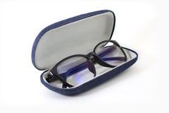 γυαλιά με το τζιν παντελόνι Στοκ εικόνες με δικαίωμα ελεύθερης χρήσης