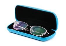 Γυαλιά σε μια περίπτωση Στοκ εικόνες με δικαίωμα ελεύθερης χρήσης