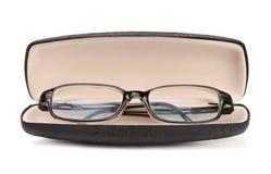 Γυαλιά σε περίπτωση που στοκ φωτογραφία με δικαίωμα ελεύθερης χρήσης