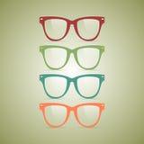 Γυαλιά Hipster Στοκ Εικόνες