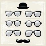 Γυαλιά Hipster Στοκ εικόνες με δικαίωμα ελεύθερης χρήσης