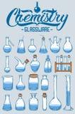 Γυαλικά χημείας Στοκ φωτογραφία με δικαίωμα ελεύθερης χρήσης