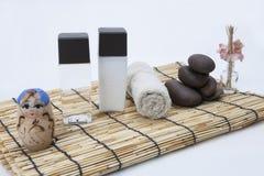 γυαλισμένη frangipani πέτρα Στοκ Εικόνες