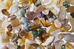 Γυαλισμένο αμμοχάλικο από το Ρήνο στις Κάτω Χώρες στοκ φωτογραφίες