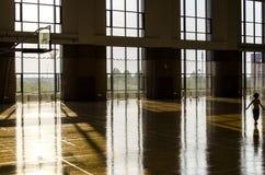 Γυμνάσιο καλαθοσφαίρισης Στοκ φωτογραφίες με δικαίωμα ελεύθερης χρήσης