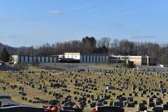 Γυμνάσιο του Λίνκολν σε Shinnston WV στοκ φωτογραφία