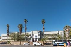 Γυμνάσιο του Windhoek, που ιδρύεται το 1917, στο Windhoek Στοκ εικόνα με δικαίωμα ελεύθερης χρήσης