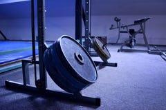 Γυμναστική ή μια αθλητική λέσχη λεπτομερώς Στοκ Φωτογραφία