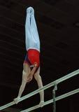 γυμναστική αθλητική Στοκ Εικόνες