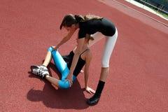 γυμναστική ασκήσεων Στοκ Εικόνες