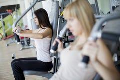 γυμναστική κοριτσιών Στοκ φωτογραφία με δικαίωμα ελεύθερης χρήσης