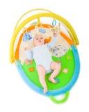 γυμναστική μωρών που απομ&om στοκ εικόνα με δικαίωμα ελεύθερης χρήσης
