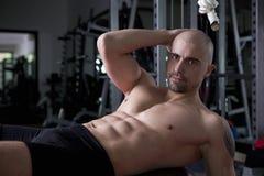 γυμναστική ο εκπαιδευ&tau Στοκ Εικόνες