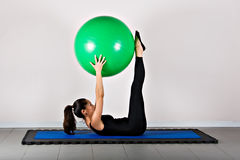 γυμναστική pilates Στοκ Εικόνες