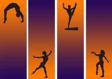 γυμναστικός νέος Απεικόνιση αποθεμάτων